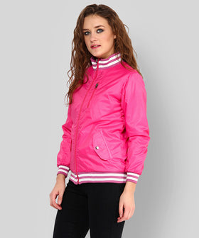 Yepme Raven Full Sleeves Jacket - Pink