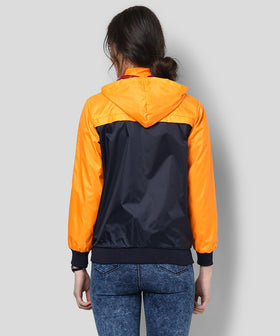 Yepme Klara Full Sleeves Jacket - Blue & Orange