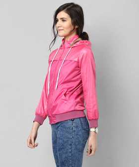 Yepme Klara Full Sleeves Jacket - Pink