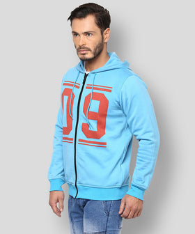 Yepme Bryan Hooded Sweatshirt - Blue