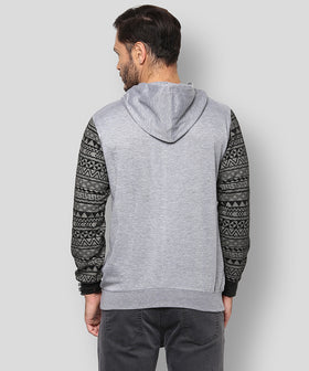 Yepme Robin Hooded Sweatshirt - Grey