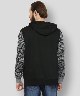 Yepme Robin Hooded Sweatshirt - Black