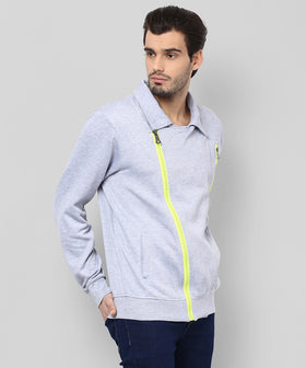 Yepme Nick Biker Sweatshirt - Grey