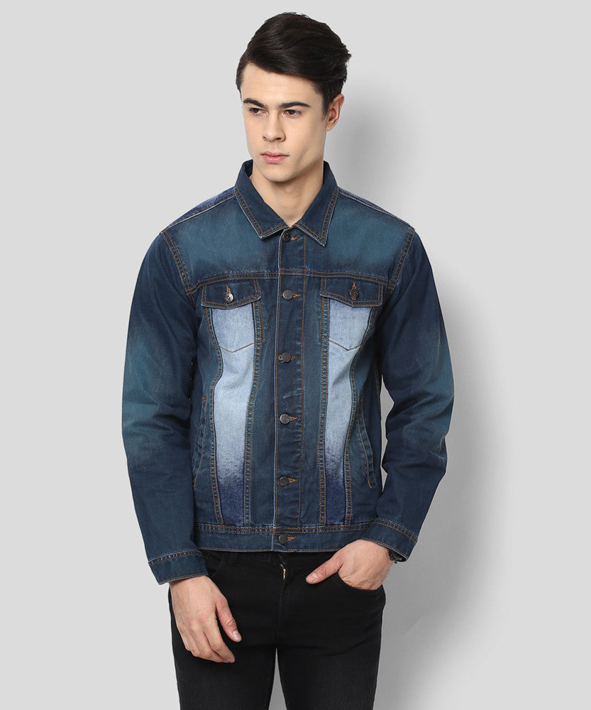 Yepme Tyler Full Sleeves Denim Jacket - Dark Wash