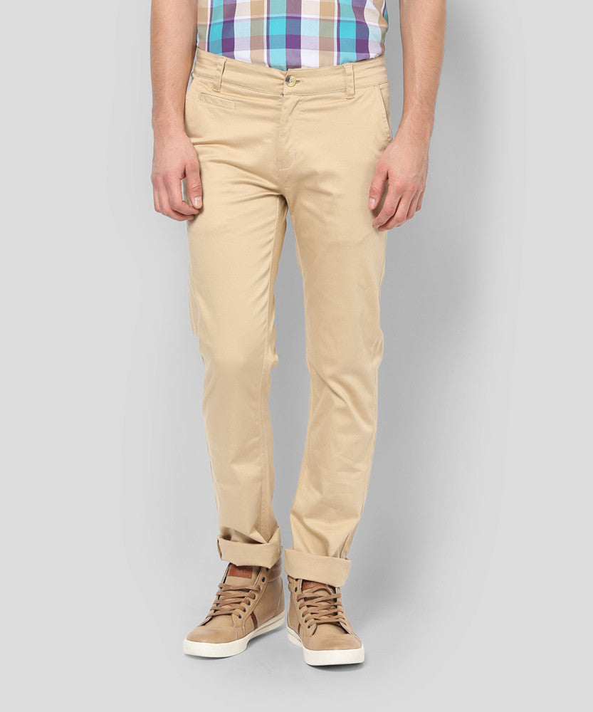 Yepme Wendell Colored Pants - Beige