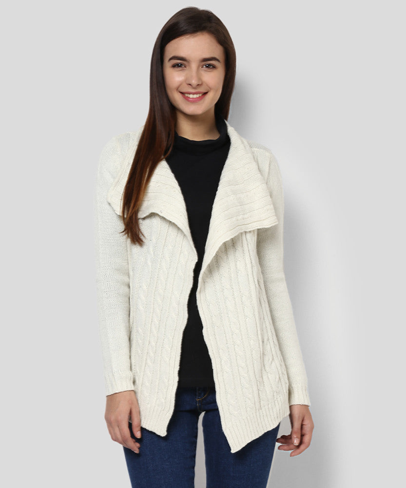 Yepme Claudia Full sleeve Sweater - Cream