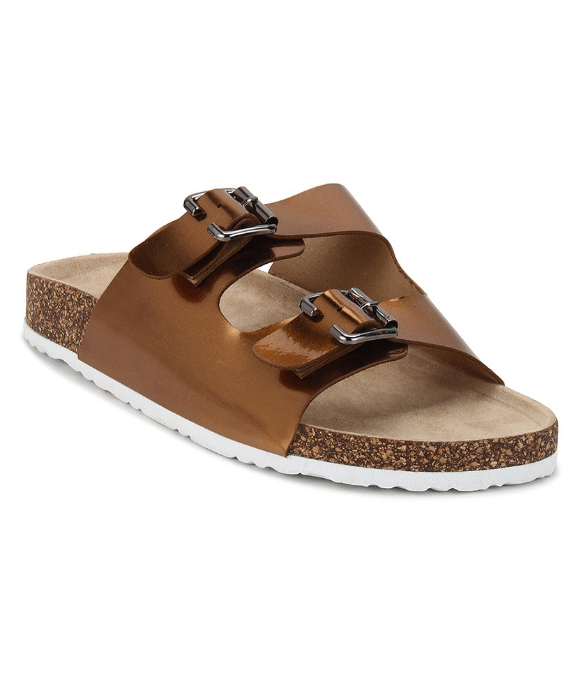 Yepme Women's Sandals - Brown