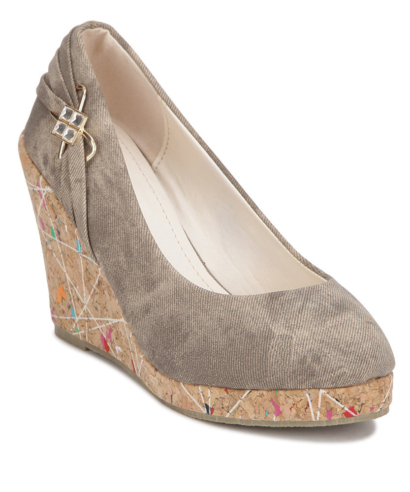 Yepme Grey Wedges