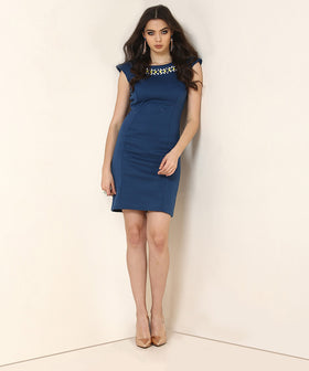 Yepme Leony Party Dress - Blue