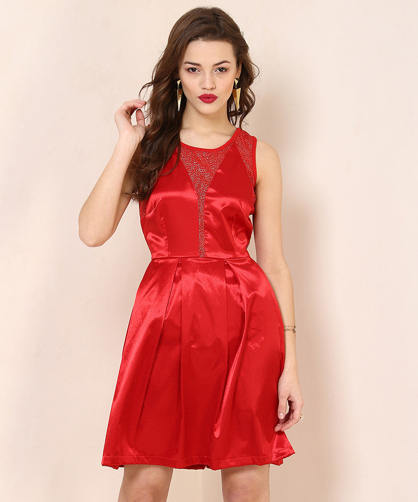 Yepme Janet Party Dress - Red