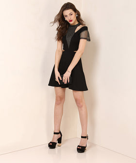 Yepme Marion Party Dress - Black