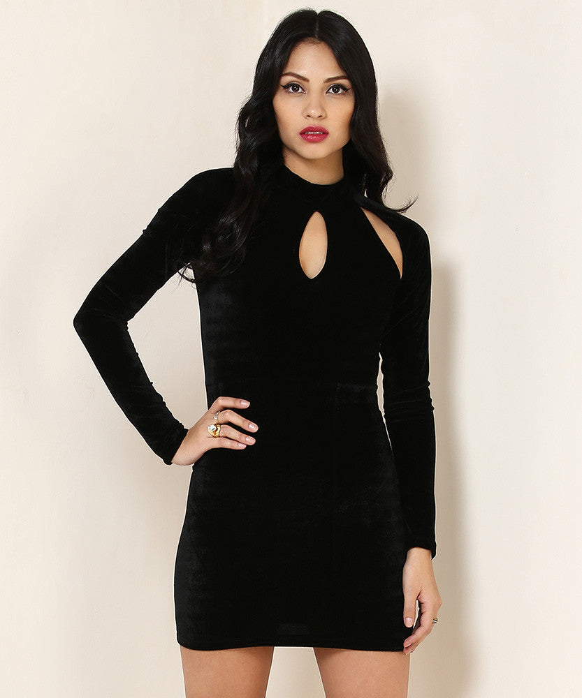 Yepme Odilly Party Dress - Black