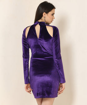 Yepme Odilly Party Dress - Purple