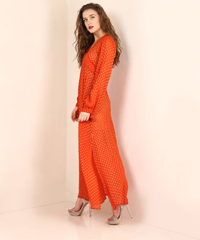 Yepme Elisha Party Dress - Rust