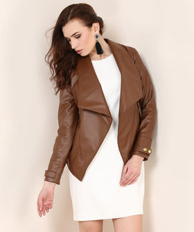 Yepme Kristie Party Jacket - Brown