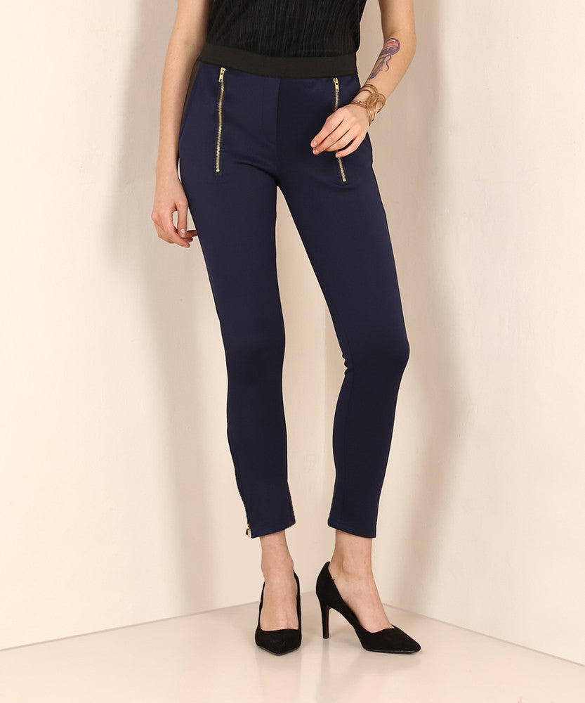Yepme Emma Party Jeggings - Blue