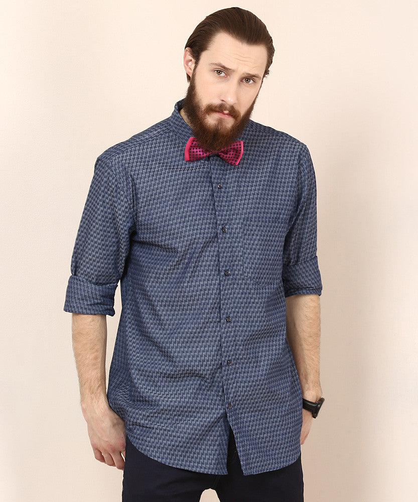 Yepme Warren Party Shirt - Blue