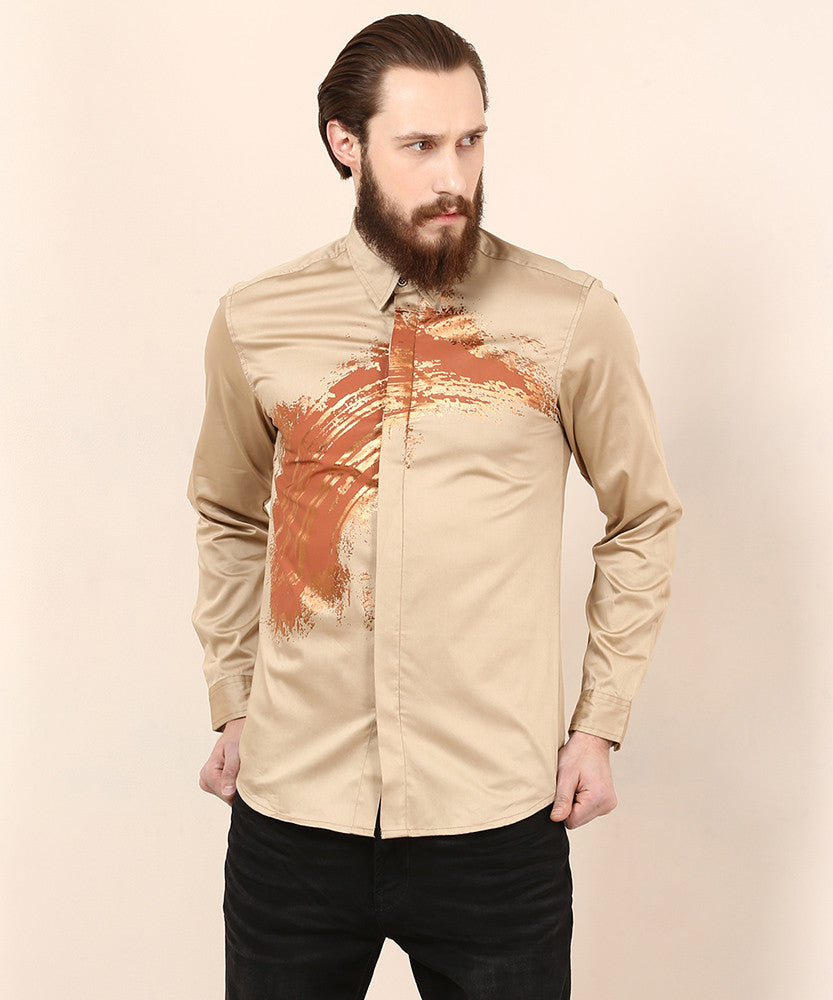 Yepme Dannic Party Shirt - Beige