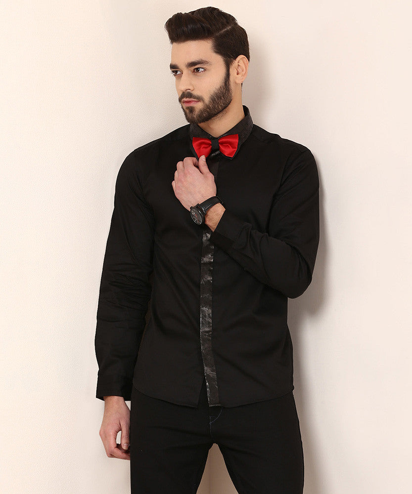 Yepme Asher Party Shirt - Black