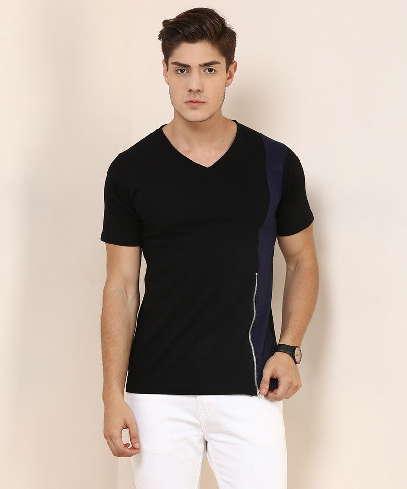 Yepme Reeves Tee - Black & Blue
