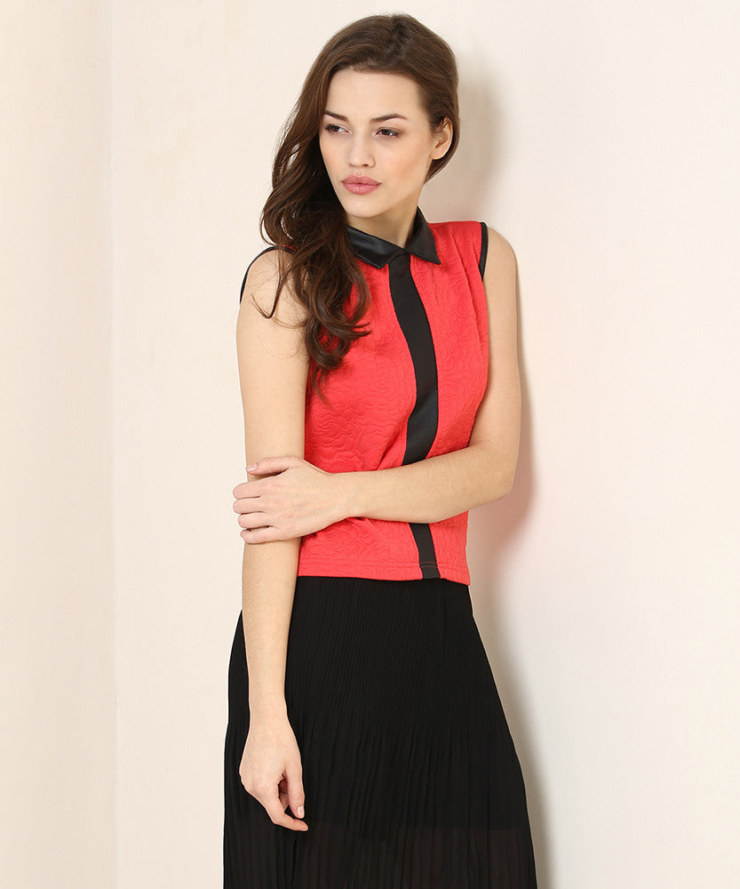 Yepme Scarlett Party Top - Coral