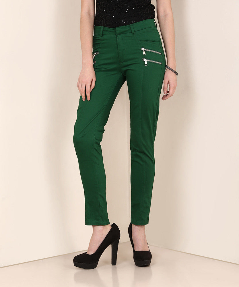 Yepme Chaviva Party Trouser - Green