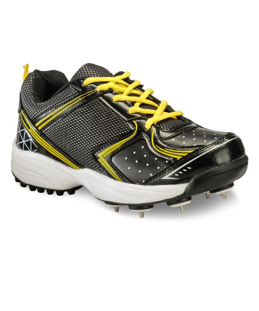 Yepme Cricket Batting Shoes - Black & Yellow
