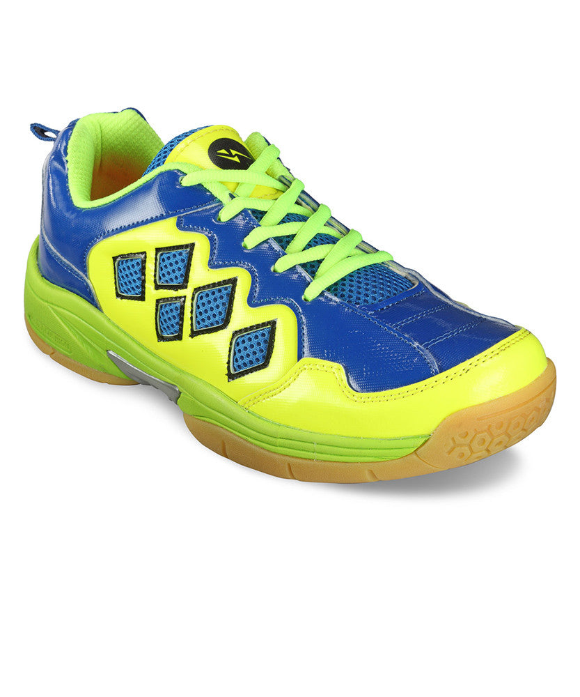 Yepme Aaric Tennis Shoes - Green & Blue