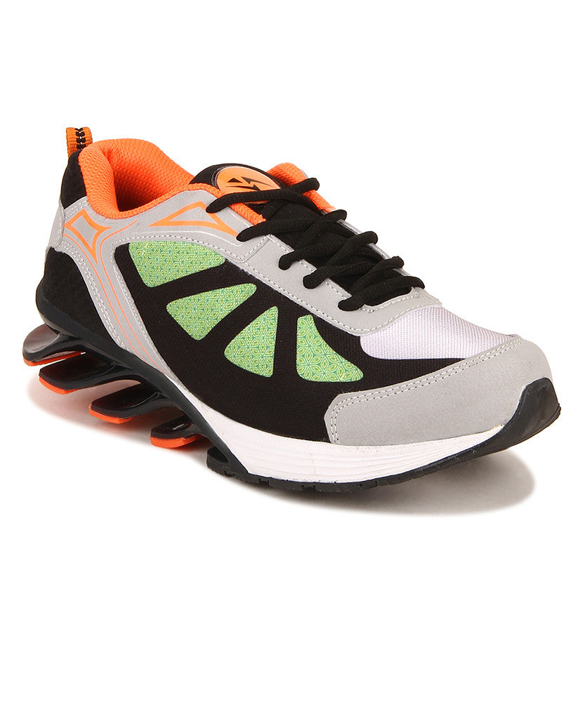 Yepme Blade Sports Shoes - Grey & Orange