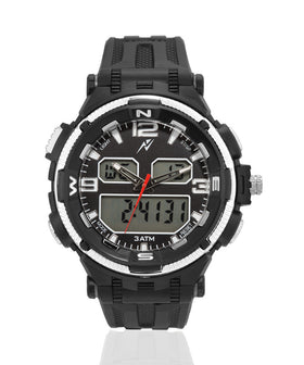 Yepme Men's Analog Digital Watch - Black