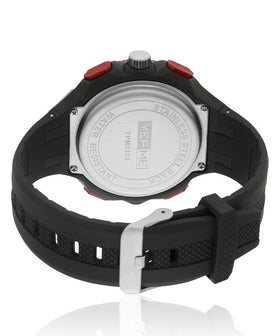 Yepme Men's Analog Digital Watch -Red/Black