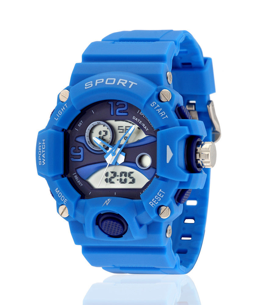 Yepme Men's Analog Digital Watch - Blue