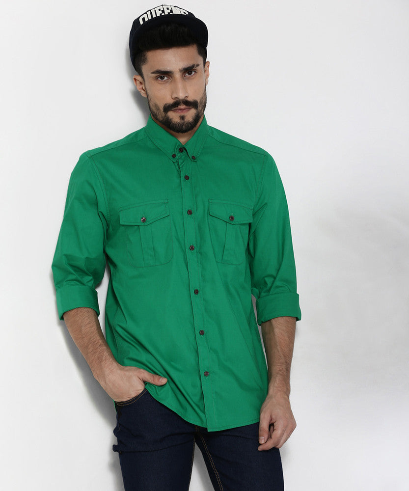 Yepme Parkinn Premium Shirt - Green