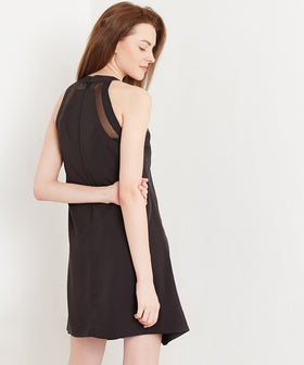 Yepme Halter Swing Dress - Black
