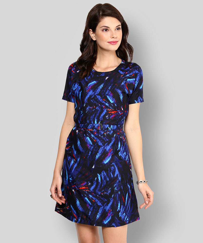 Yepme Jaynie Shift Dress - Blue