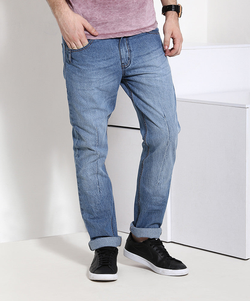 Yepme Light Wash Denim - Blue