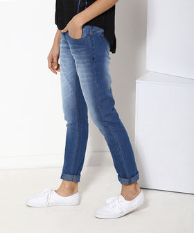 Yepme Medium Wash Women's Denim - Blue