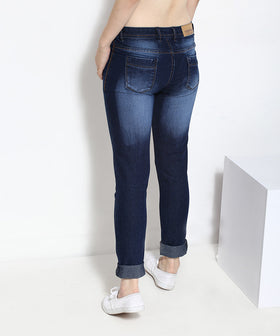 Yepme Dark Wash Denim - Blue