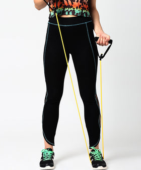 Yepme Olivia Yoga Trackpants - Black