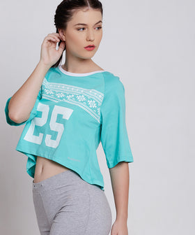 Yepme Milley High Performance Crop Top - Green