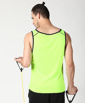 Yepme Galvin High Performance Muscle Vest - Green