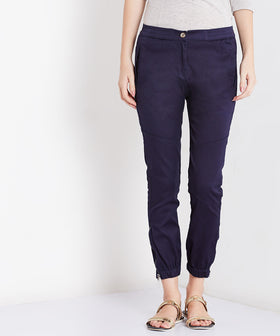 Yepme Cathryn Colored Joggers - Blue