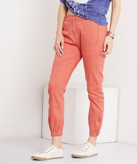 Yepme Cathryn Colored Joggers - Orange