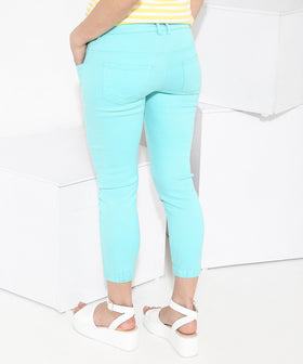 Yepme Stephy Capri Joggers - Green