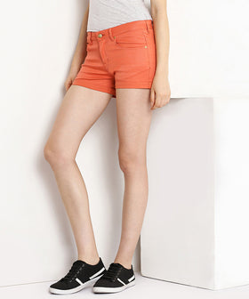 Yepme Jess Colored Shorts - Orange