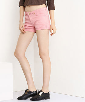 Yepme Jess Colored Shorts - Pink