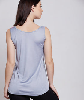 Yepme Nelly Take It Easy Sporty Top - Blue