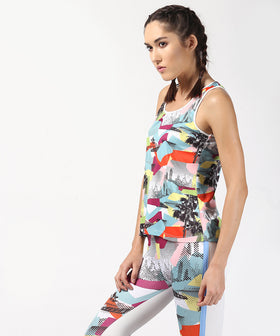 Yepme Birdie Multi Patch Tank Top - Multicolor