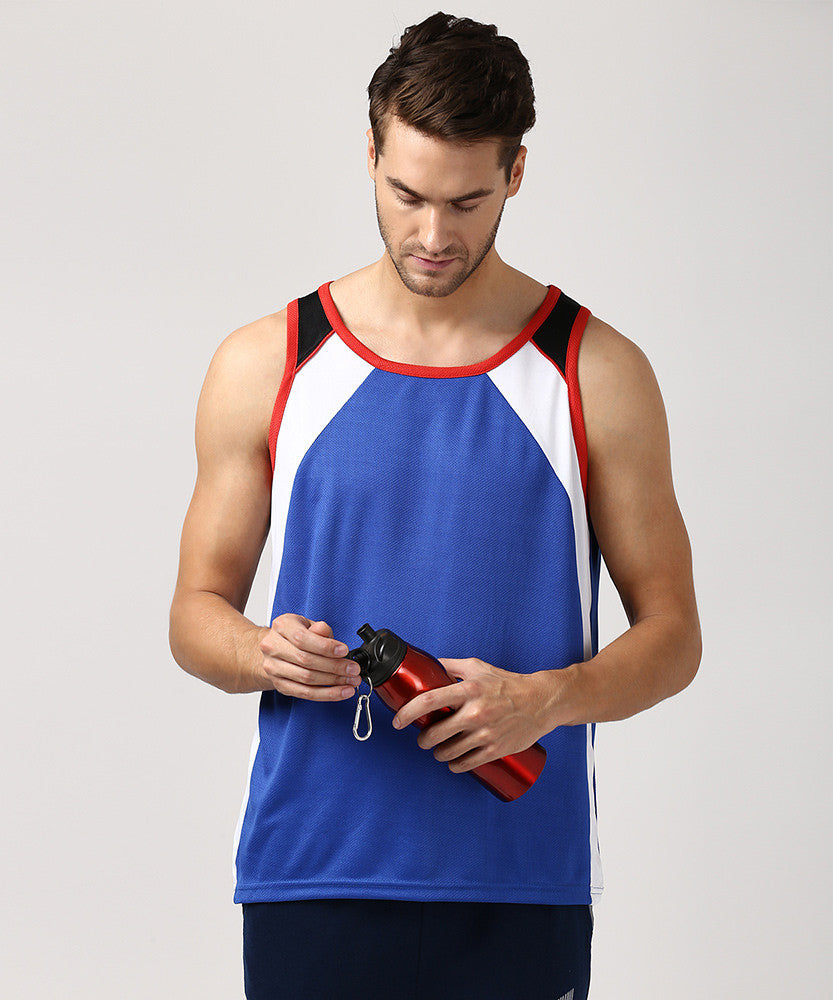 Yepme Crosby Muscle Vest - Blue