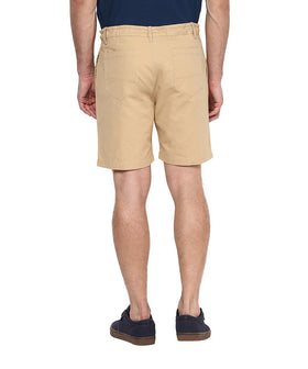 Yepme Solid Shorts - Beige